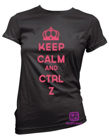 Keep Calm e ctrl+Z