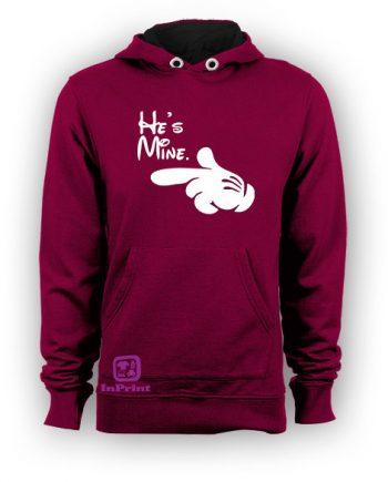 Mickey Hands. He is Mine,She is Mine