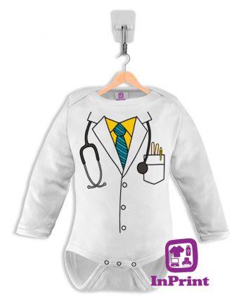 Bata-Medico-baby-body-personalizada-estampagem-aveiro-Coimbra-Anadia-Portugal-roupa-comprar-foto-online-bebe-manga-comprida