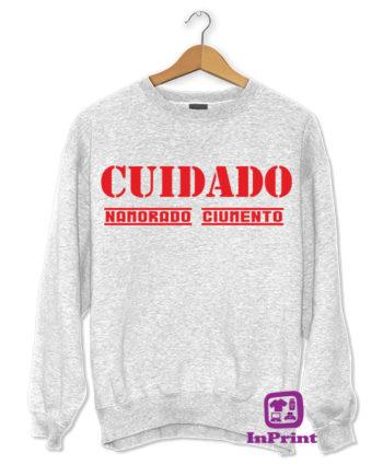 CUIDADO-NAMORADO-CIUMENTO-personalizada-estampagem-aveiro-Coimbra-Anadia-roupa-T-SHIRT-SWEAT-HOODIE-sweatshirt-casaco-camisola-amarelo-T-Shirt-FeMale