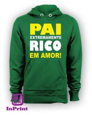 Pai-extremamente-rico-em-amor-personalizada-estampagem-aveiro-Coimbra-Anadia-roupa-T-SHIRT-SWEAT-HOODIE-sweatshirt-casaco-inprint-verde-sweat-site