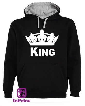 King-Queen-personalizada-estampagem-aveiro-Coimbra-Anadia-roupa-T-SHIRT-SWEAT-HOODIE-sweatshirt-casaco-inprint-sweat-Jumper