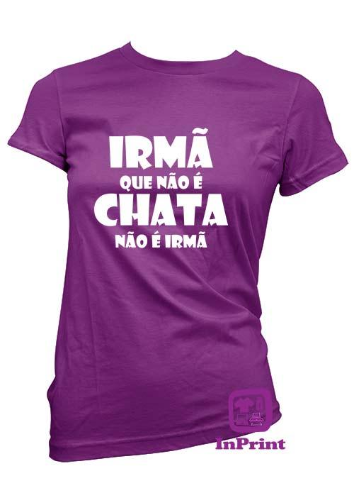 T Shirt Irmã Chata Inprint Impressão E Personalização De Roupa