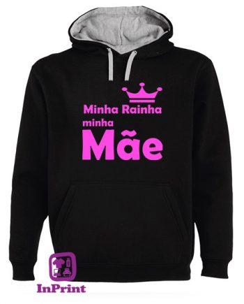 Minha-Rainha-minha-Mae-personalizada-estampagem-aveiro-Coimbra-Anadia-roupa-T-SHIRT-SWEAT-HOODIE-sweatshirt-casaco-inprint-comprar-online-T-Shirt