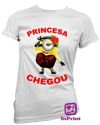 Princesa-Chegou-estampagem-aveiro-Coimbra-Anadia-roupa-T-SHIRT-SWEAT-HOODIE-sweatshirt-casaco-inprint-comprar-online-personalizado-bordado-T-Shirt-FeMale