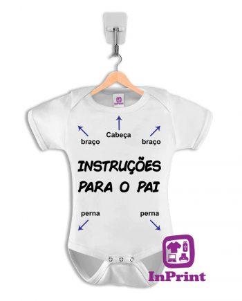 Instruções-para-o-Pai-baby-body-personalizada-estampagem-aveiro-Coimbra-Anadia-Portugal-roupa-comprar-foto-online-bebe