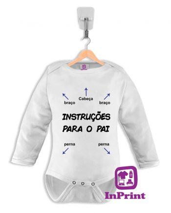 Instruções-para-o-Pai-baby-body-personalizada-estampagem-aveiro-Coimbra-Anadia-Portugal-roupa-comprar-foto-online-bebe-manga-comprida