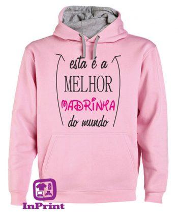 Esta-e-a-Melor-Madrinha-do-Mundo-estampagem-aveiro-Coimbra-Anadia-roupa-HOODIE-sweatshirt-casaco-inprint-comprar-online-personalizado-bordado-prenda-oferecer--T-Shirt-FeMale