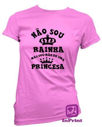 Nao-sou-Rainha-Mae-Princesa-estampagem-aveiro-Coimbra-Anadia-roupa-HOODIE-sweatshirt-casaco-inprint-comprar-online-personalizado-bordado-prenda-oferecerT-Shirt-Female