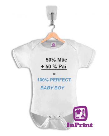 50% pai + 50% mãe = 100% babyboy-baby-body-personalizada-estampagem-aveiro-Coimbra-Anadia-Portugal-roupa-comprar-foto-online-bebe-prenda-