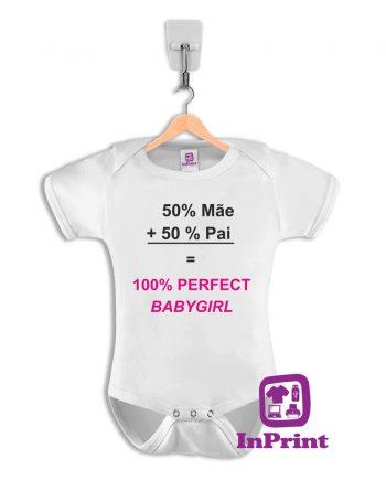 50% pai + 50% mãe = 100% babygirl-baby-body-personalizada-estampagem-aveiro-Coimbra-Anadia-Portugal-roupa-comprar-foto-online-bebe-prenda-