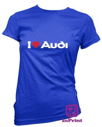 I Love Audi-estampagem-aveiro-Coimbra-Anadia-roupa-HOODIE-sweatshirt-casaco-inprint-comprar-online-personalizado-bordado-prenda-oferecer-T-Shirt-FeMale
