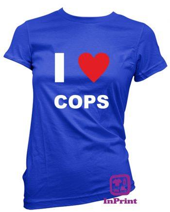 I-Love-Cops-estampagem-aveiro-Coimbra-Anadia-roupa-HOODIE-sweatshirt-casaco-inprint-comprar-online-personalizado-bordado-prenda-oferecer-T-Shirt-FeMale