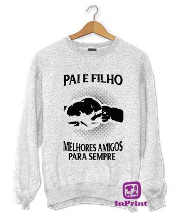 Pai e Filho Amigos para Sempre-estampagem-aveiro-Coimbra-Anadia-roupa-HOODIE-sweatshirt-casaco-inprint-comprar-online-personalizado-bordado-Jumper