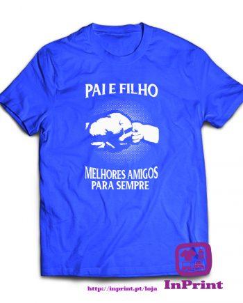Pai e Filho Amigos para Sempre-estampagem-aveiro-Coimbra-Anadia-roupa-HOODIE-sweatshirt-casaco-inprint-comprar-online-personalizado-bordado-T-Shirt-Male