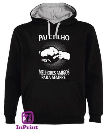 Pai e Filho Amigos para Sempre-estampagem-aveiro-Coimbra-Anadia-roupa-HOODIE-sweatshirt-casaco-inprint-comprar-online-personalizado-bordado-sweat-site
