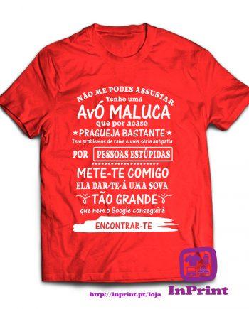 Não-me-podes-assustar.-Avó-maluca-estampagem-aveiro-Coimbra-Anadia-roupa-HOODIE-sweatshirt-casaco-inprint-comprar-online-personalizado-bordado-T-Shirt-Male criança neto