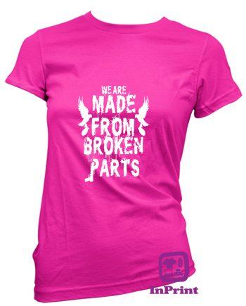 We-are-made-from-broken-Parts-estampagem-aveiro-Coimbra-Anadia-roupa-HOODIE-sweatshirt-casaco-inprint-comprar-online-personalizado-bordadoT-Shirt-FeMale