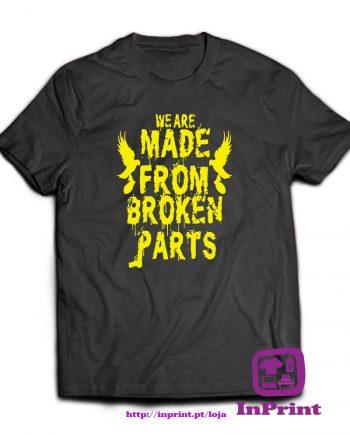 We-are-made-from-broken-Parts-estampagem-aveiro-Coimbra-Anadia-roupa-HOODIE-sweatshirt-casaco-inprint-comprar-online-personalizado-bordadoT-Shirt-Male