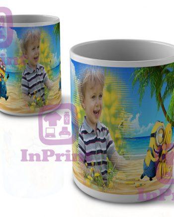 Minion-on-Banana-Island-cha-tea-coffee-mug-Caneca-site-personalizada-magica-comprar-online-Aveiro-Anadia-Coimbra-chavena-prenda-canecas-site