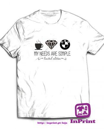 My needs are simple-estampagem-aveiro-Coimbra-Anadia-roupa-HOODIE-sweatshirt-casaco-inprint-comprar-online-personalizado-bordado-T-Shirt-Male