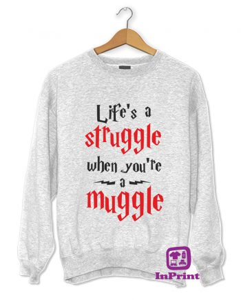 Life's-a-Struggle-when-you're-a-muggle-Harry-Potter-estampagem-aveiro-Coimbra-Anadia-roupa-HOODIE-sweatshirt-casaco-inprint-comprar-1Jumper