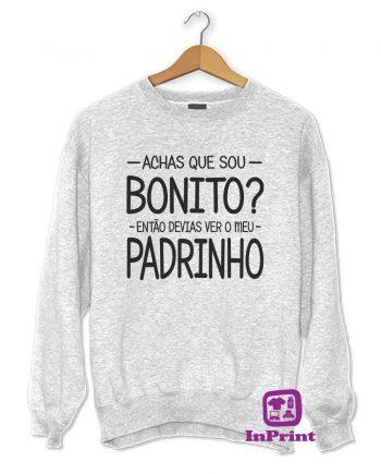 Achas-que-sou-bonito-PADRINHO-estampagem-aveiro-Coimbra-Anadia-roupa-HOODIE-sweatshirt-casaco-inprint-comprar-online-personalizado-bordado-Jumper
