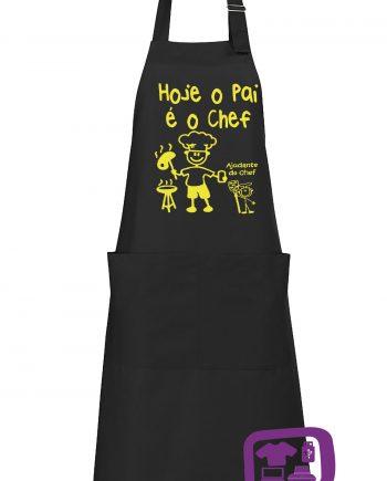Hoje-o-Pai-e-o-Chef-estampagem-aveiro-Coimbra-Anadia-roupa-brinde-inprint-comprar-online-personalizado-bordado-prenda-oferecer-avental