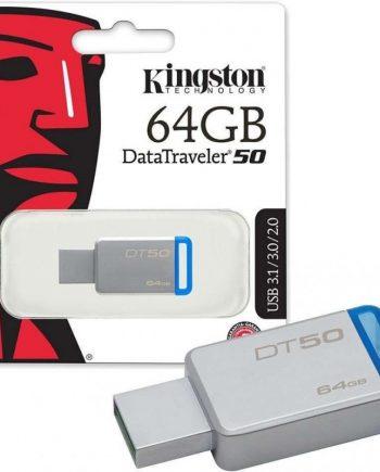 kingston-pen-drive-datatraveler-50-64gb-usb-31-metal-azul-dt50-64gb-